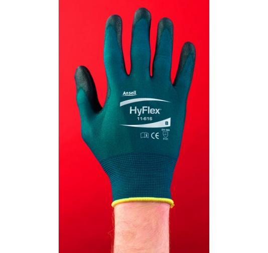 Schutzhandschuh Ansell HyFlex 11-800 Gr.9 EN 388